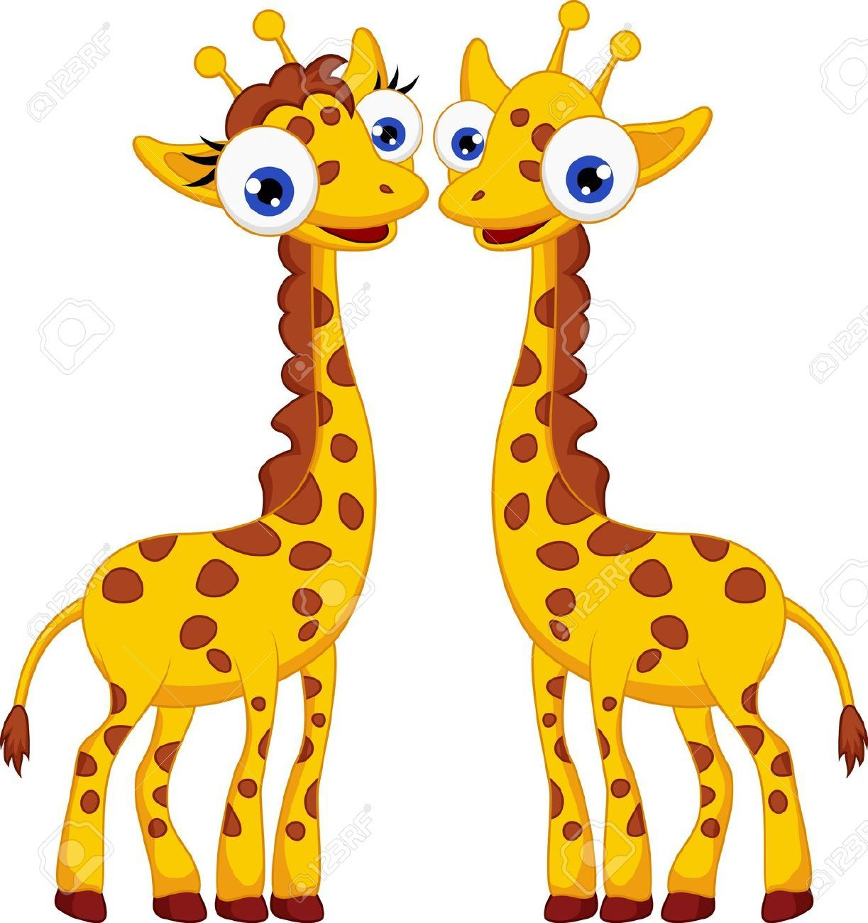 giraffe stock vector illustration and royalty free giraffe clipart [ 1223 x 1300 Pixel ]