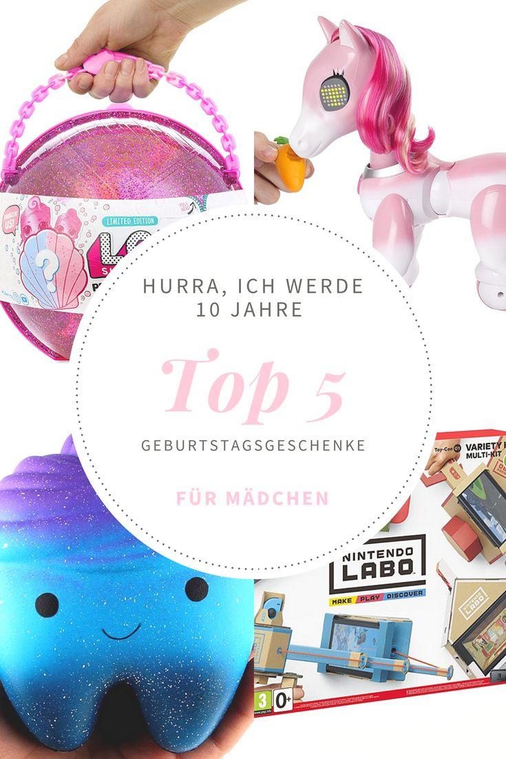 Top 5 Geburtstagsgeschenke Für 10 Jährige Mädchen
