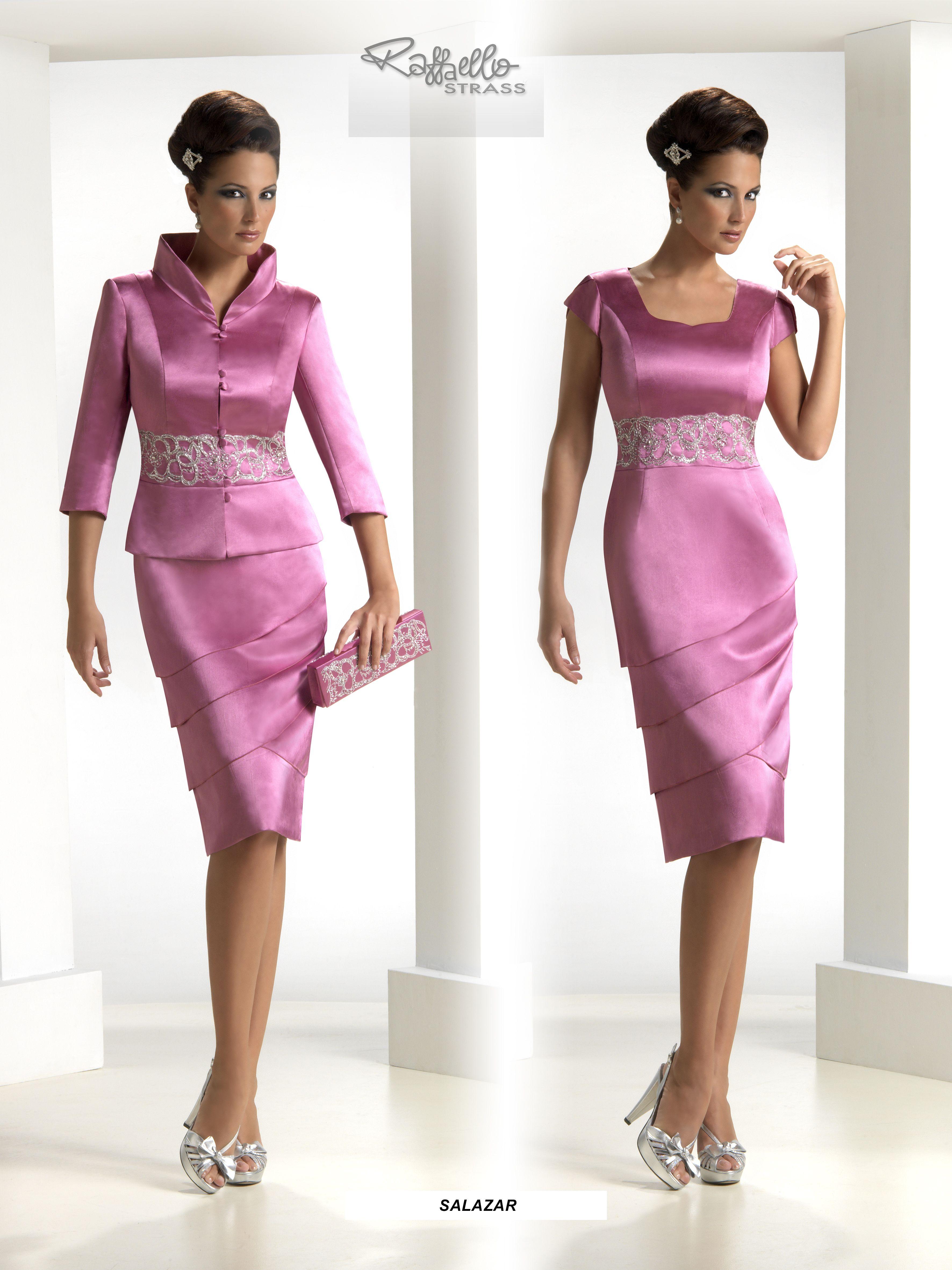 Chaqueta para vestido fiesta rosa