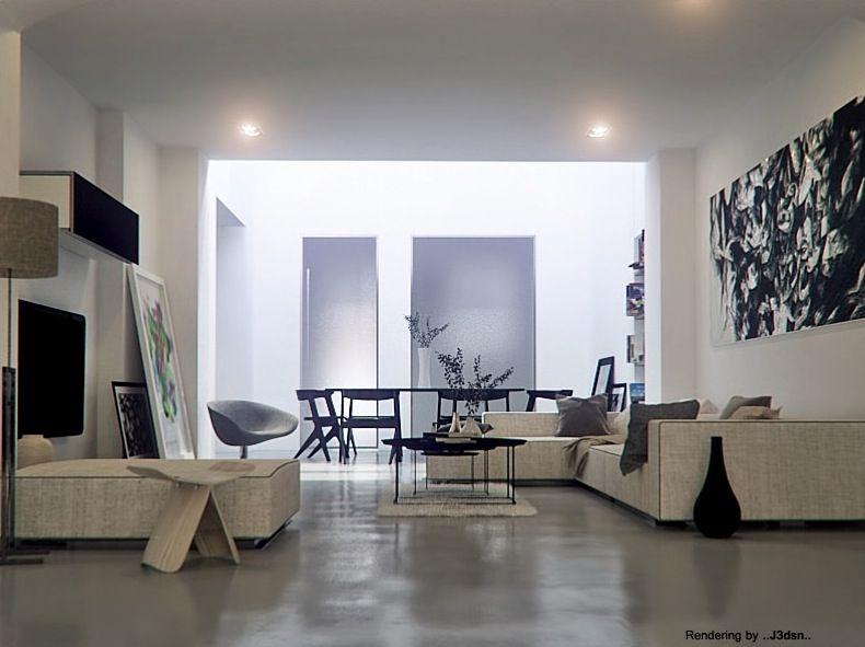 Warmth In Subtle Tones Design Residential 1 Cream Sofa