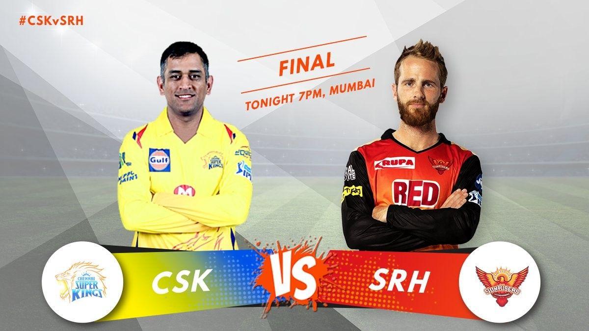 Who Will Win Today S Ipl2018final Match A Retweet Csk B Like Srh Ipl2018final Vivoipl Cskvsrh Srhvcsk Ipl11 Chennai Super Kings Ipl Finals