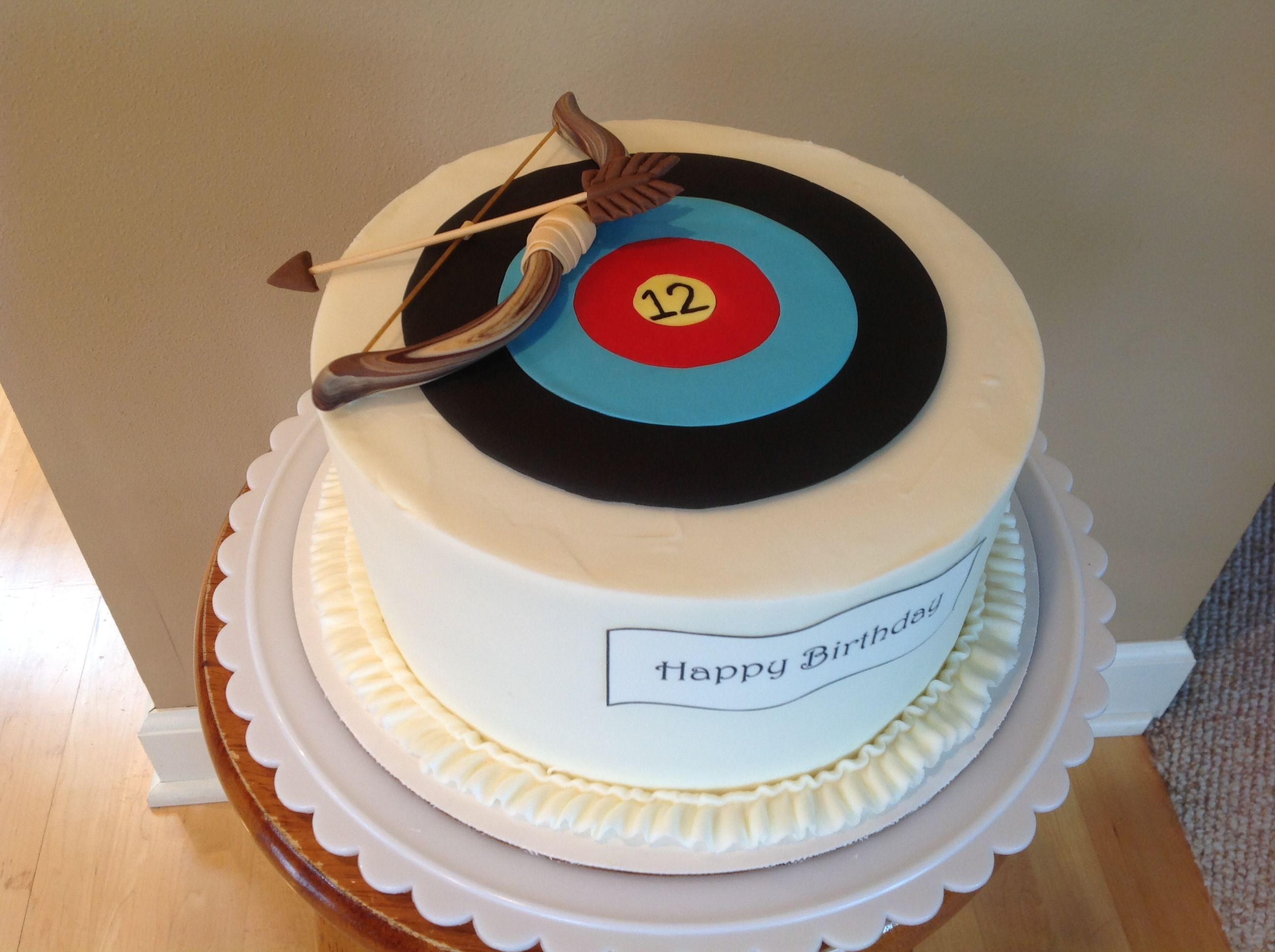 Archery cake My foods Pinterest Archery Cake and Specialty cakes