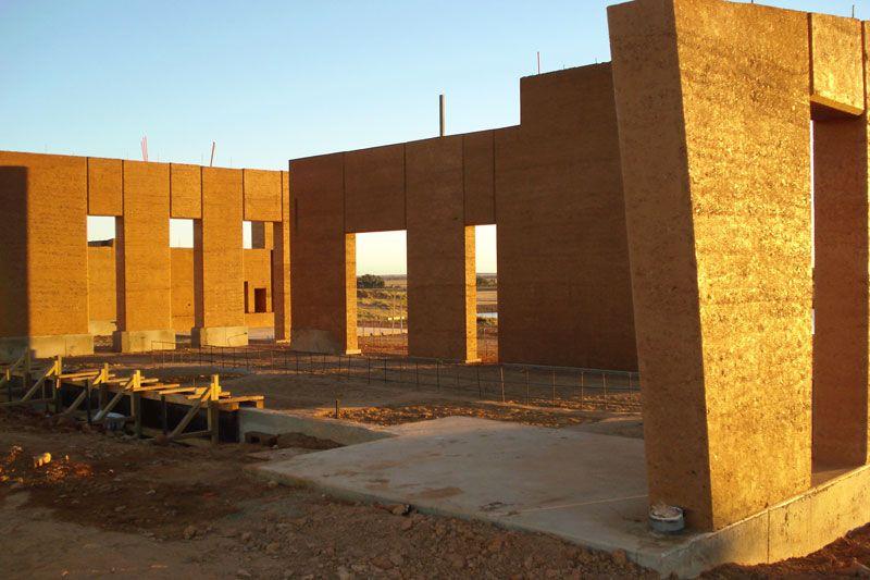Jericho Station Homestead Rammed Earth Constructions Rammed Earth Rammed Earth Wall Homesteading