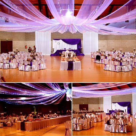 Festsaal deko weit weit white pinterest deko for Hallendeko hochzeit