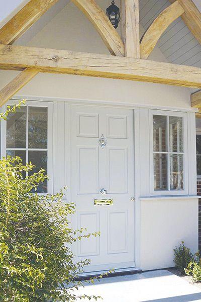 Georgian Style Mumford Wood Six Panel Timber Front Door Doors