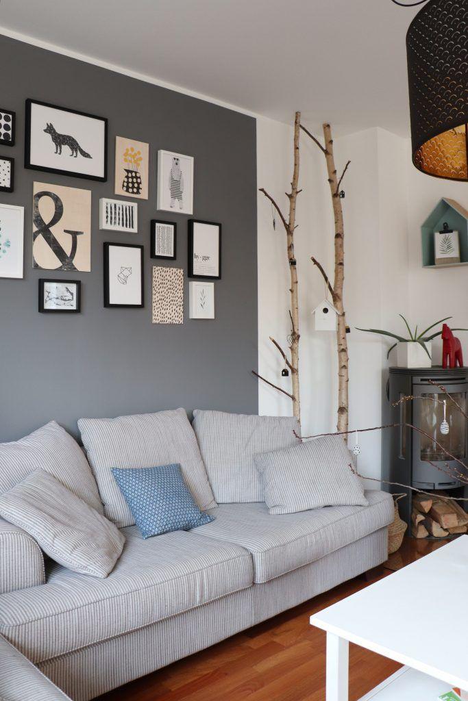 Wohnzimmer Bilderwand Skandinavisch Schlicht Und Hygge