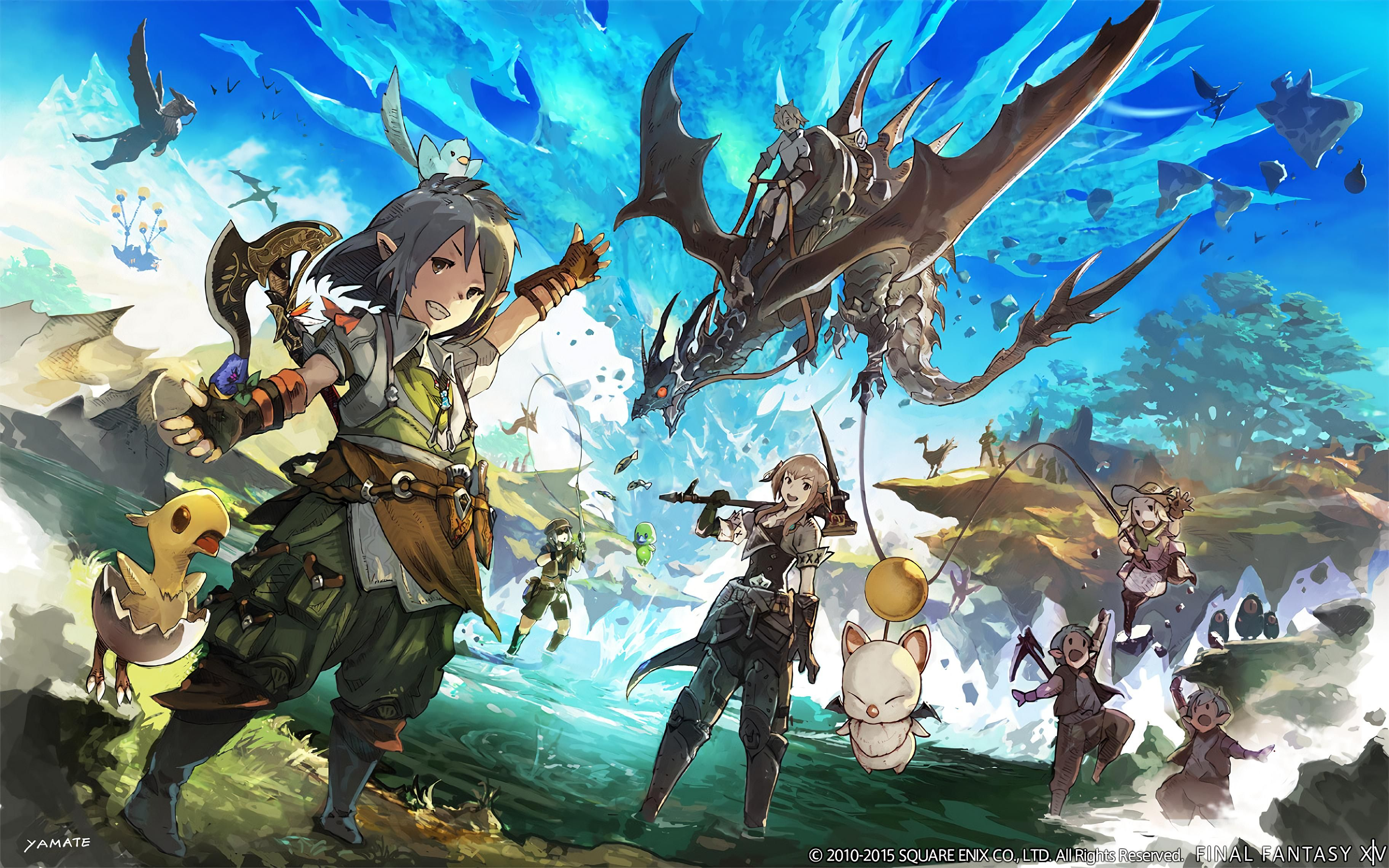 FFXIV 4k Wallpaper Album Final Fantasy XIV Art