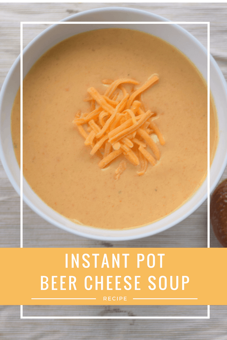 Instant Pot Beer Cheese Soup images