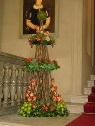 Image result for flower topiary arrangement