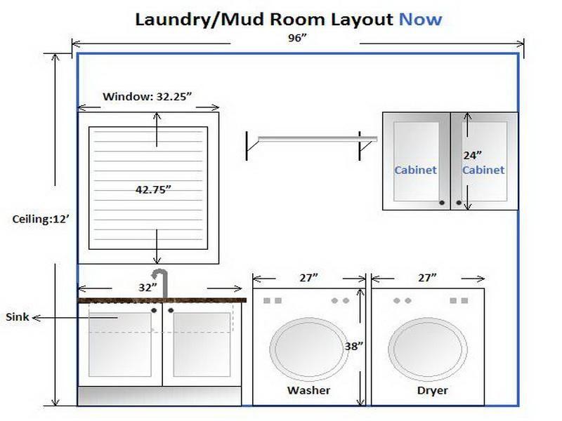 Laundry Room Layout Idea Badezimmer Wasche Waschkuchendesign