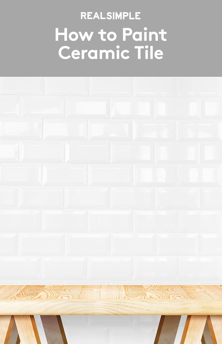 How to Paint Ceramic Tile | Pinterest | Paint ceramic tiles, Painted ...
