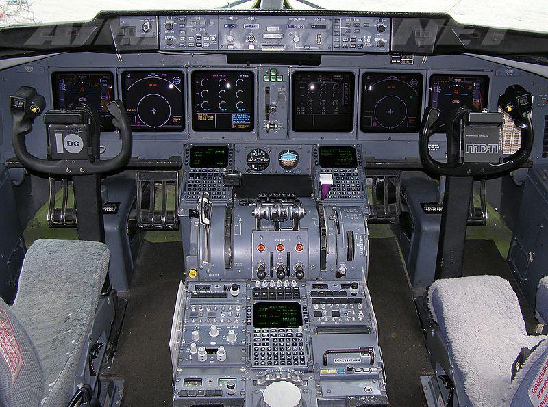 MD-11 cockpit | Flight Decks & Cockpits | Mcdonnell douglas