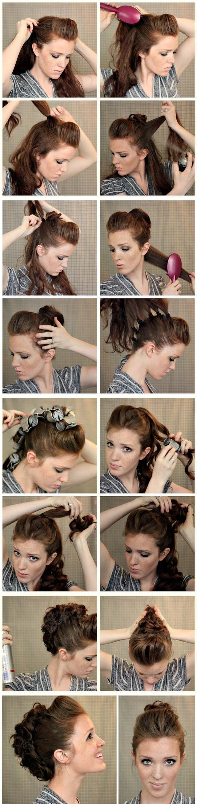 Posh faux hawk styles to try with my buttlength hair pinterest