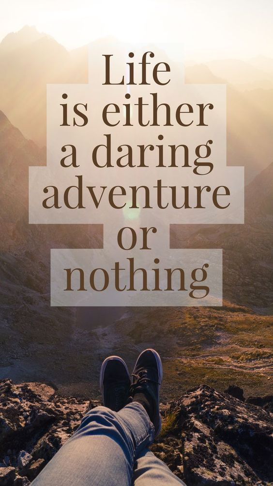 Life is a daring adventure | Travel Quotes ️ | Travel ...