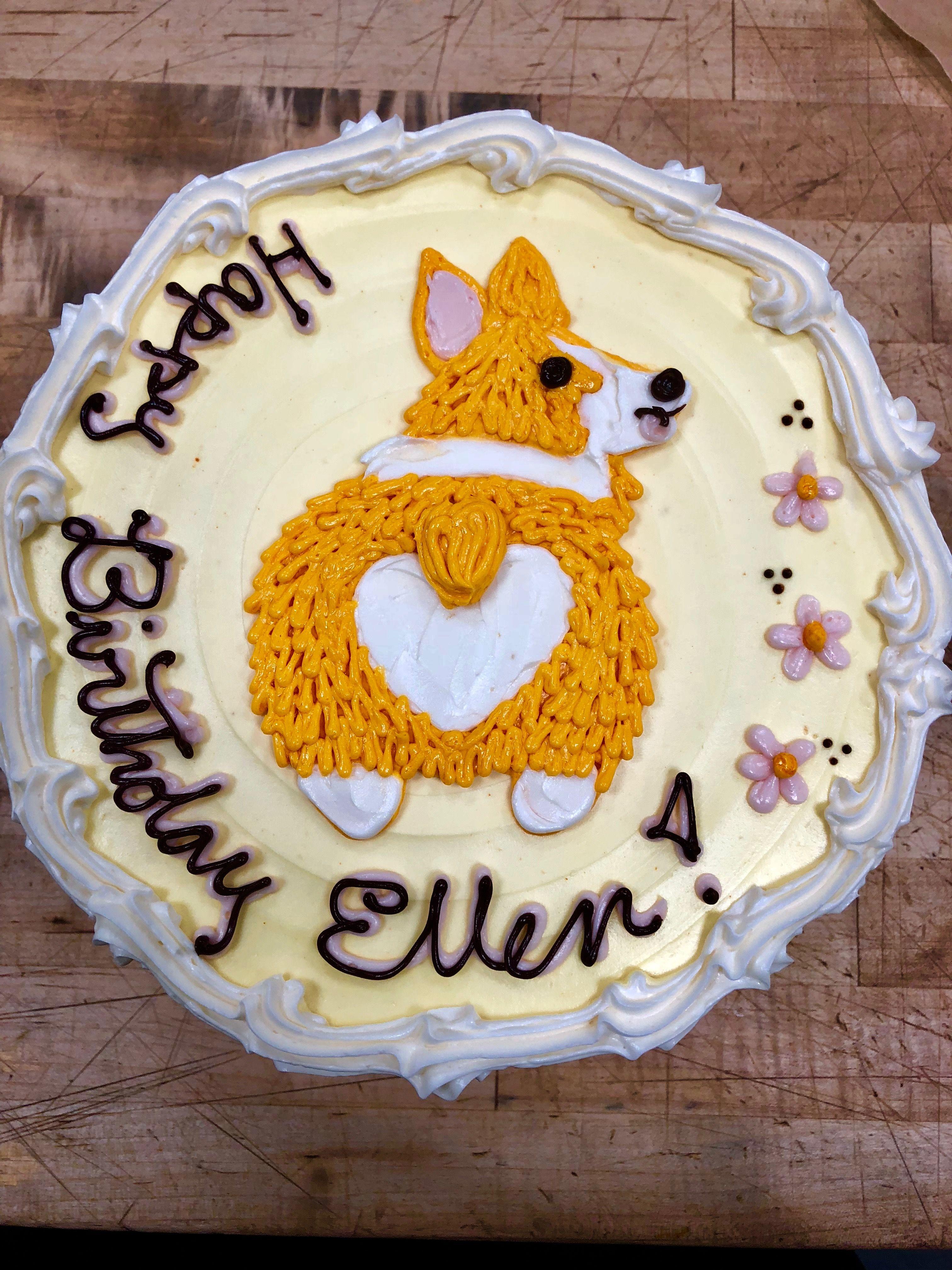 Corgi Birthday Whole Food Recipes Foods Occasion Cakes
