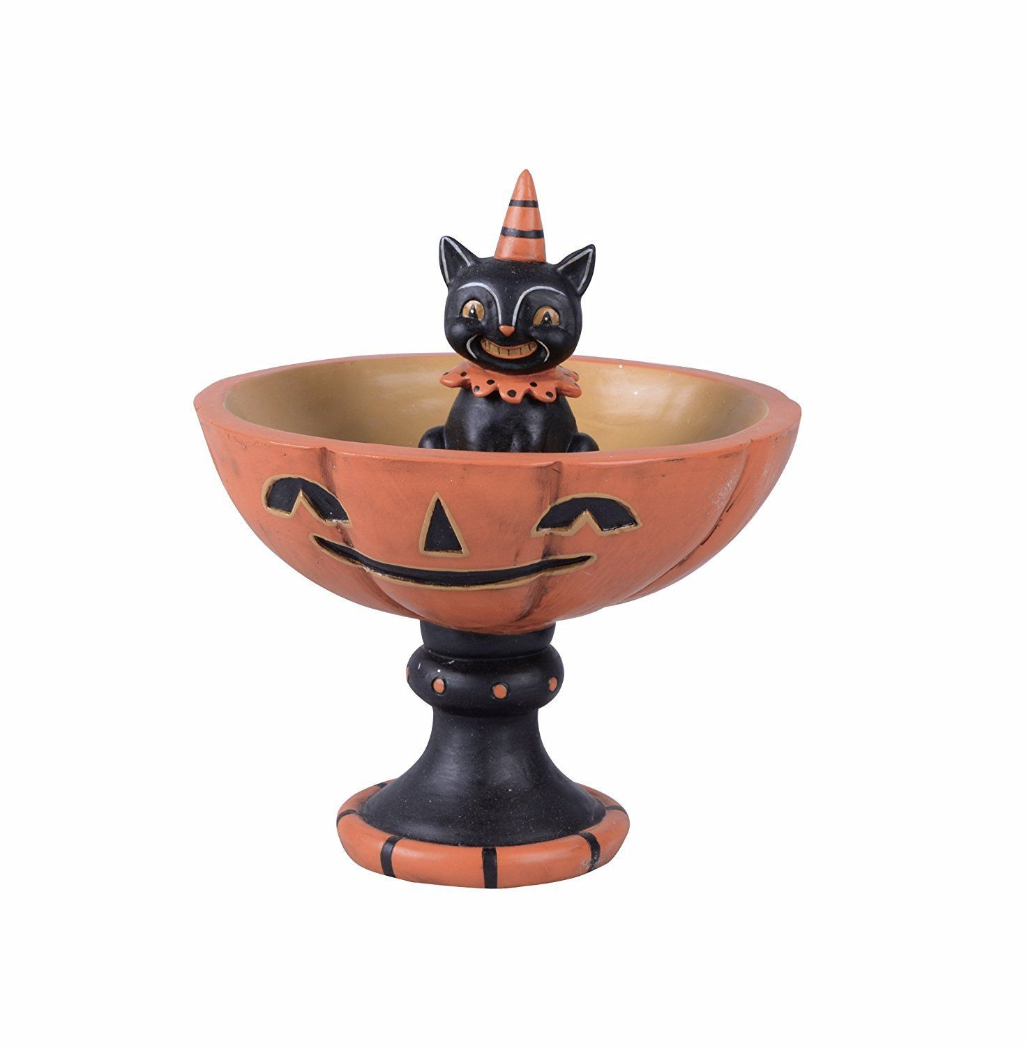 293ba5f4ae9 Vintage Retro Animal Halloween Candy Bowl Candy Dish On Stand Decoration