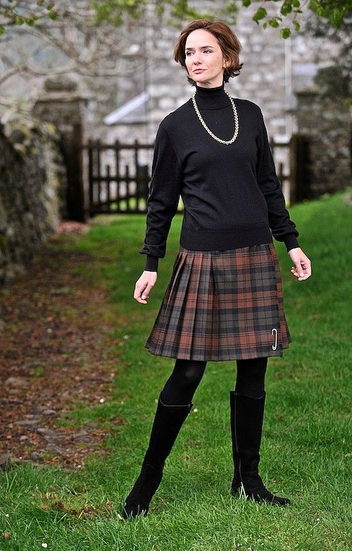 Authoritative answer mature british women plaid skirt consider, that
