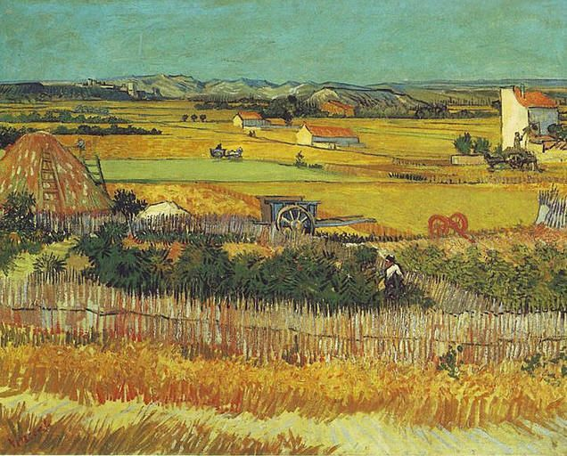 Gogh, Vincent van - The Harvest - 1888