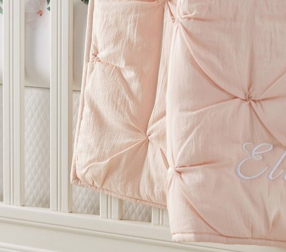 Best Meredith Baby Bedding Subtle Textures Bed Pottery Barn 400 x 300