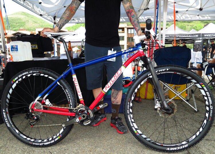 bdc1b7d457f Ritchey 650b mtb with rigid fork. Nice. | Bikes | Bicycle, Road ...