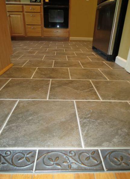 67 ideas kitchen floor tile border living rooms  ceramic