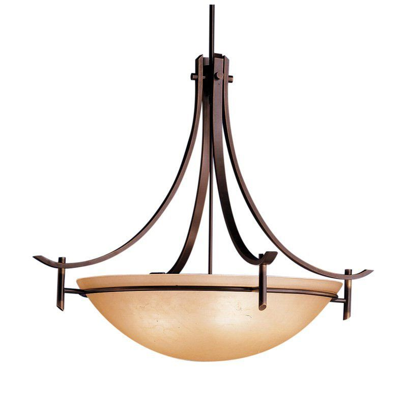 Kichler olympia pendant light 36w in olde bronze from hayneedle com