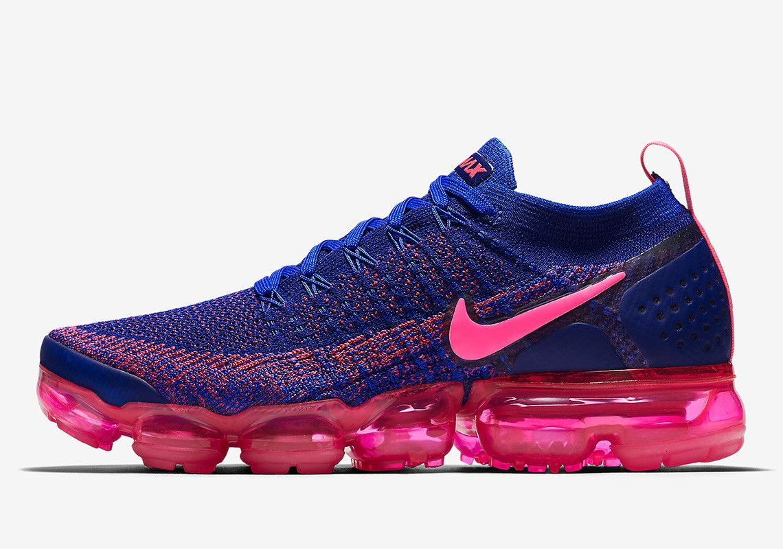 low priced 6787d a77e2 Nike Vapormax Flyknit 2 Racer Blue Drops On Black Friday ...