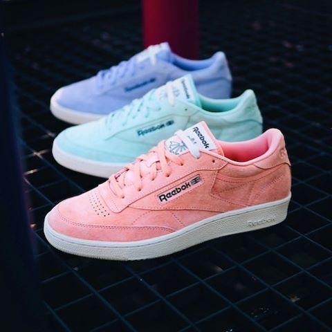 Reebok Classic's new pastel lineup