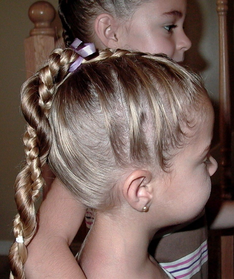 Cute easy hairstyles that kids can do - Kid Hairstyles