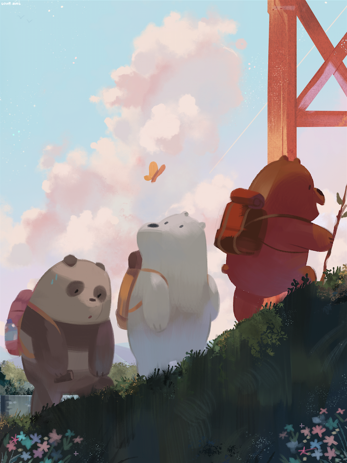 Everydaylouie We Bare Bears We Bare Bears Wallpapers Bear Wallpaper Ice Bear We Bare Bears