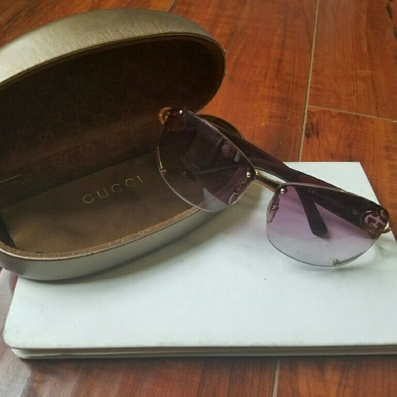 edf169e4922 Women s GUCCI 2820 F S Wraparound Sunglasses Used a few times. Case and  dust cloth included. Authentic and purchased at Nordstrom.