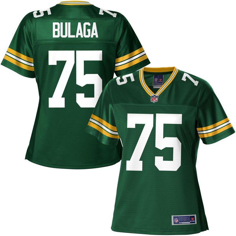NFL Pro Line Women s Green Bay Packers Bryan Bulaga Team Color Jersey 109d8299c