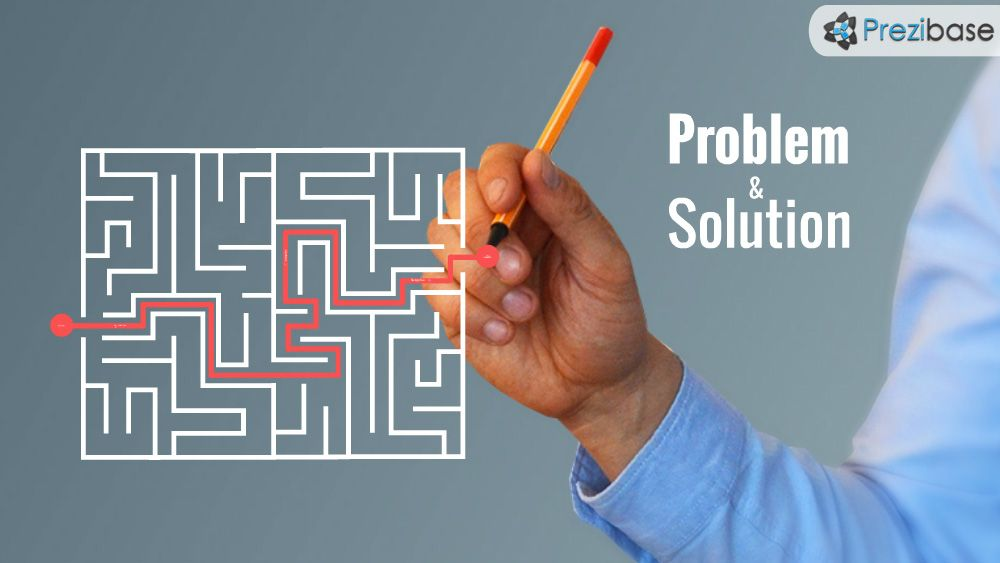 Business wiriting strategy plan problem and solution prezi - business presentation