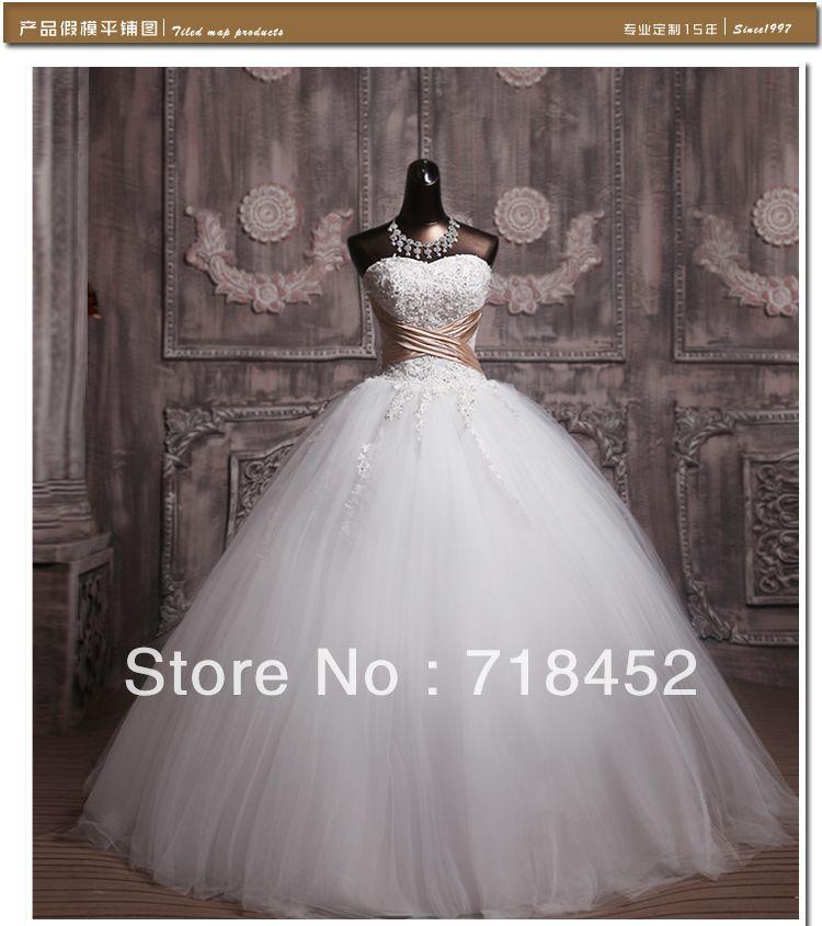 Bling Corset Wedding Dress