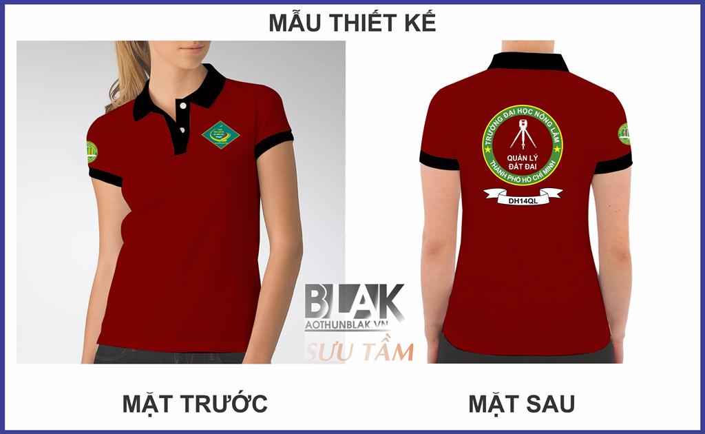 Mẫu áo lớp trường Đại Học Nông Lâm TPHCM - Hình 2
