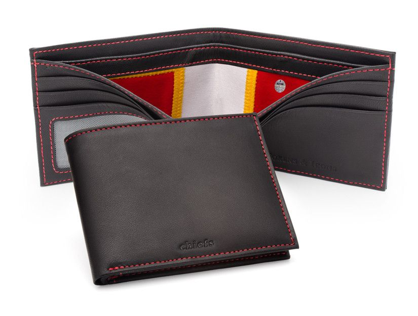 Kansas City Chiefs Game Used Uniform Wallet