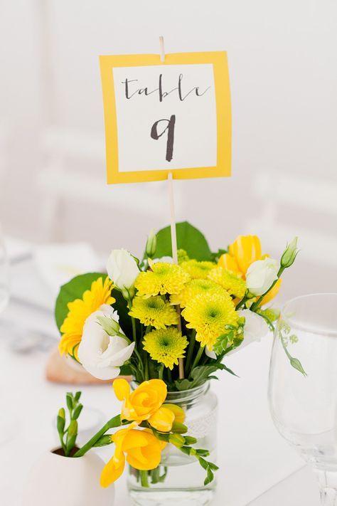 Un mariage en jaune au coeur de la Bretagne