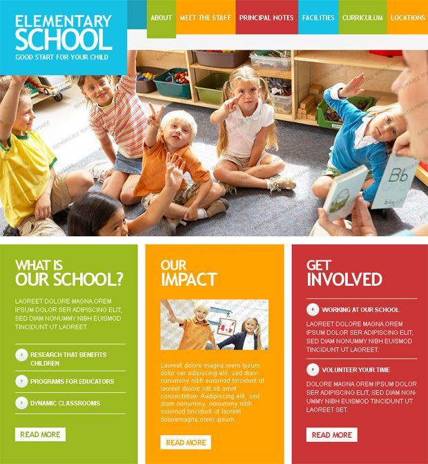Back to School: Last Trends in Educational Website Designs ...