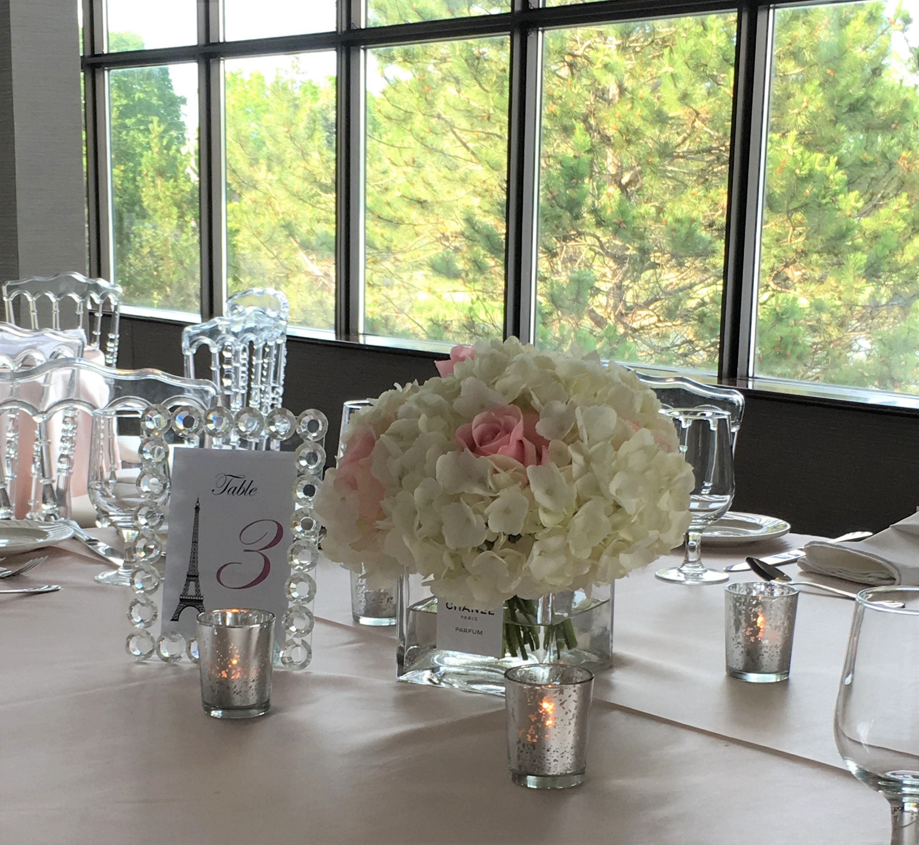 Night wedding decor ideas  A Night In Paris  Planning Design u Decor Rentals Blissful