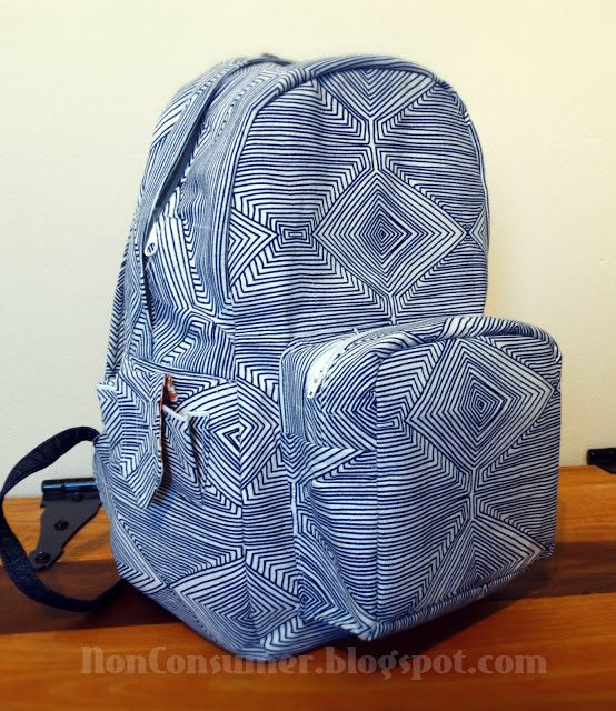 MADE IT  Pellon Free Backpack Pattern.