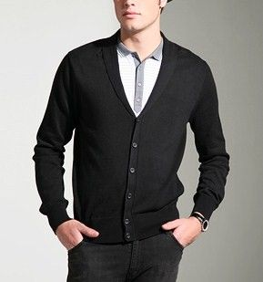 black cardigan outfit men | Moda para Hombre | Pinterest | Black ...