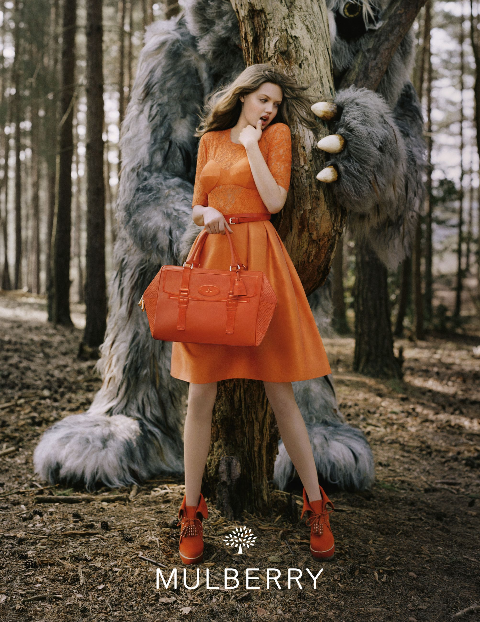 9d59689a48a3 Mulberry AW 12 - Tim Walker   Lindsay Wixon. Love the colour and the ...
