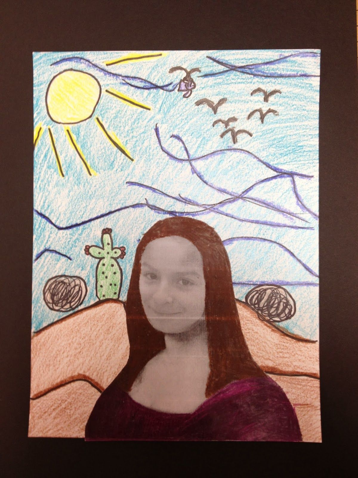 2nd Grade Mona Lisa