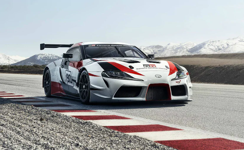 2020 Toyota Supra Race Car Toyota Supra Sports Car Wallpaper Car Wallpapers