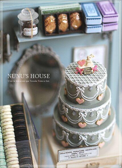 nunu's house - by tomo tanaka -   Nunu's House Miniatures ...