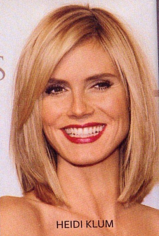 Image Consultant Hair Styles Heidi Klum Hair Medium Hair Styles