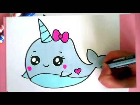 How To Draw A Super Cute And Easy Unicorn Youtube Fun And Easy