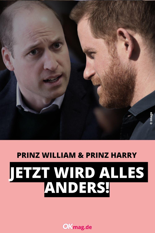 Prinz Harry Prinz William Jetzt Andert Sich Alles Prinz William Prinz Harry Prinz