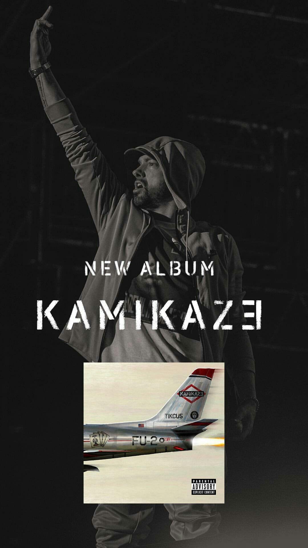 Eminem's record breaking surprise album release, Kamikaze