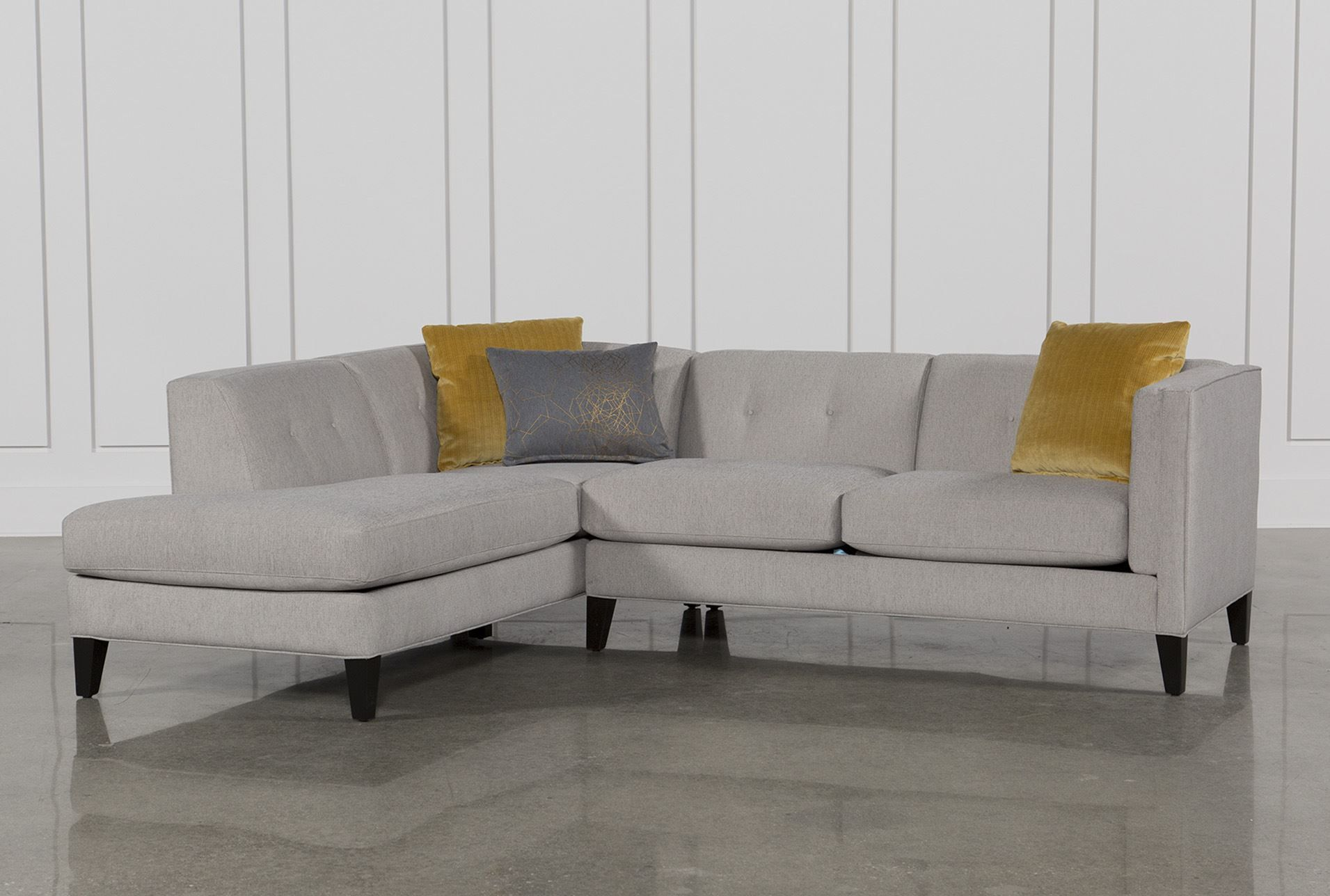 Avery 2 Piece Sectional Small Sectional Sofa Small Sectional Couch Sectional